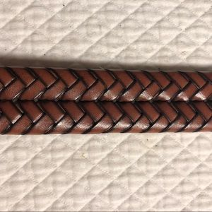 Rich brown BROOKS BROTHERS belt - 40""